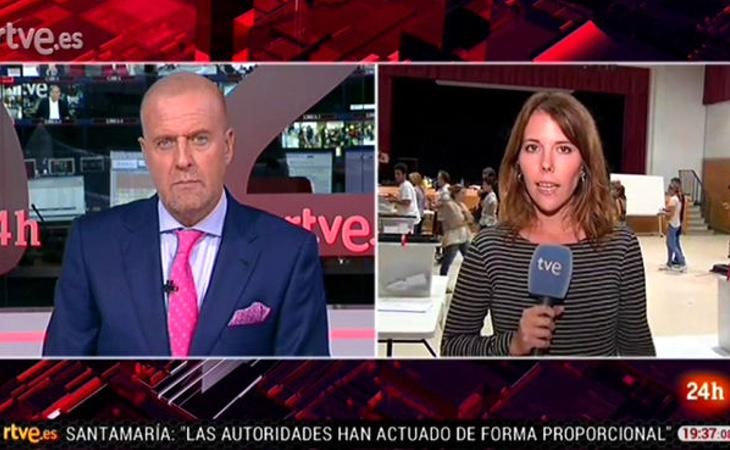 El Canal 24 Horas no confundió a los espectadores con su programación difusa