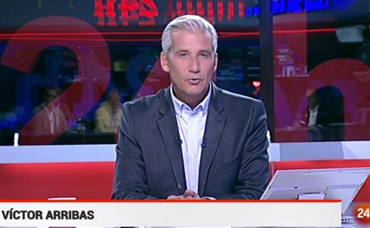 Víctor Arribas evitó la mención a los heridos