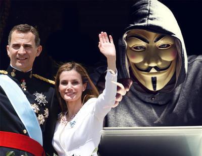 Anonymous hackea la web de la Casa Real en su 'Operación Cataluña'