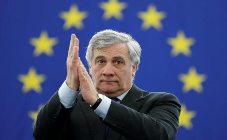 Antonio Tajani, presidente del Parlamento Europeo, aseguraba sentirse conmocionado