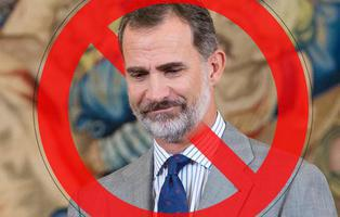 Girona declara persona 'non grata' al rey Felipe VI