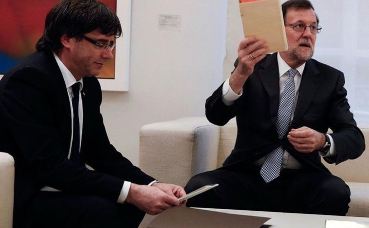 Puigdemont lamenta en su respuesta al Senado que Rajoy rechace su propuesta de diálogo
