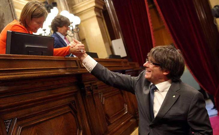 Junts Pel Sí y la CUP pretenden iniciar un proceso constituyente que derive en la República Catalana