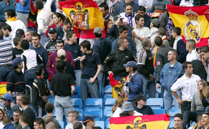 La tolerancia de los españolistas al fascismo en el fútbol