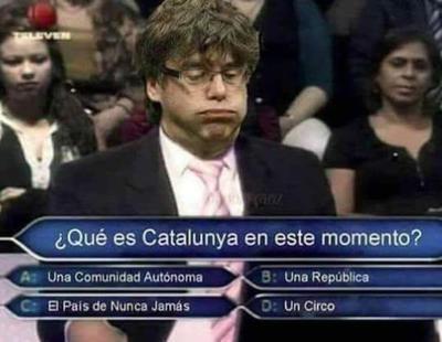 Los mejores memes tras la declaración de independencia de Cataluña