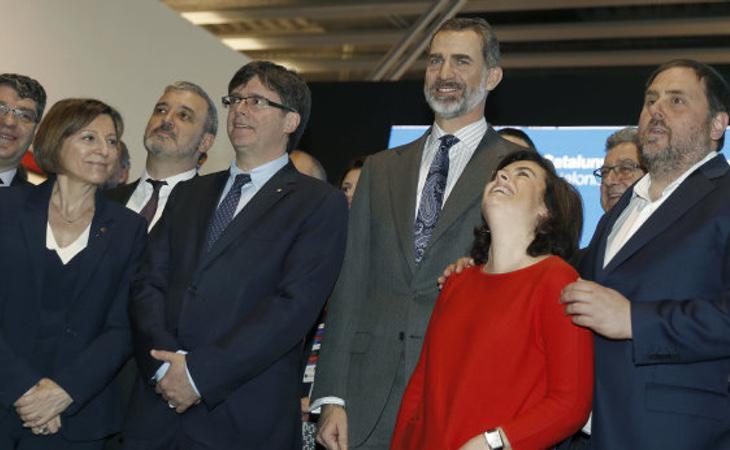 Soraya conoce de primera mano la situación de cataluña desde que dirigió la Operación Diálogo