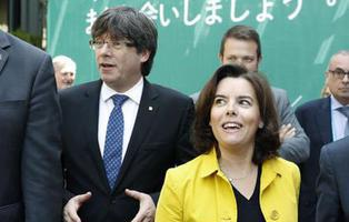 Soraya Sáenz de Santamaría presidirá la Generalitat de Cataluña