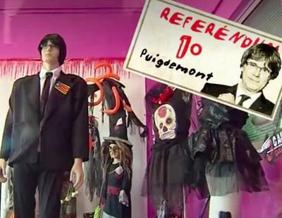El disfraz de Puigdemont, el más demandado para este Halloween