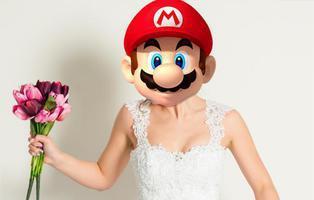 Super Mario se traviste con un traje de novia en su nuevo juego