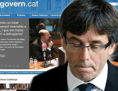 Rajoy desactiva las webs del Govern y la Generalitat en aplicación del 155
