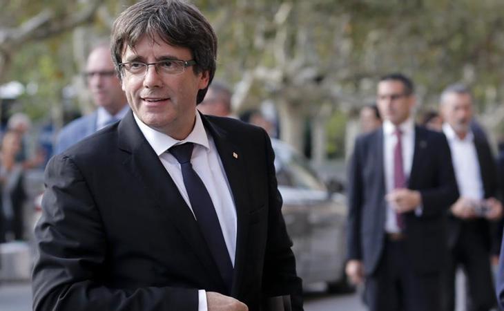 Puigdemont ya está en Bélgica, donde ha huido de la Justicia española