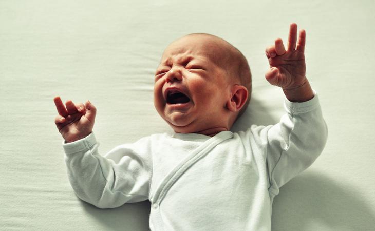 El bebé había sido completamente abandonado