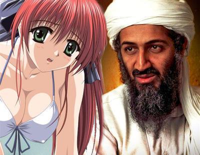 Osama bin Laden tenía su ordenador repleto de videojuegos eróticos, porno y anime de Japón
