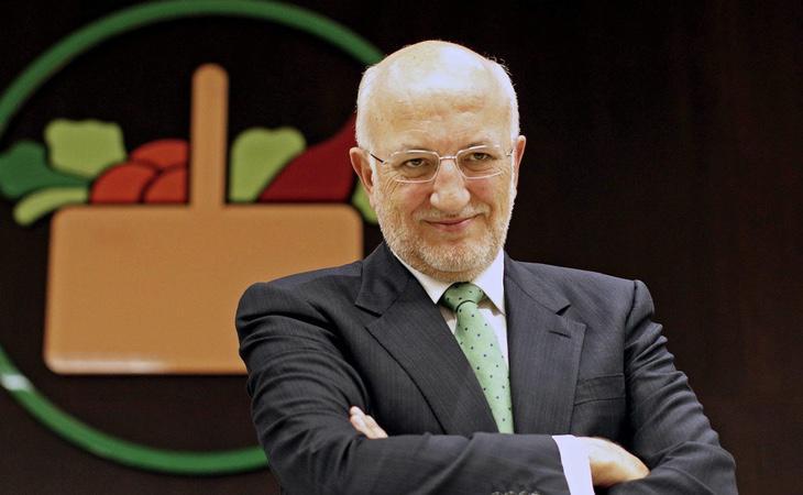 El presidente de Mercadona, Juan Roig, ocupa el tercer lugar en la lista tras Amancio Ortega y Sandra Ortega