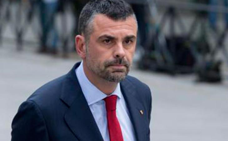 Santi Vila a su llegada a la Audiencia Nacional