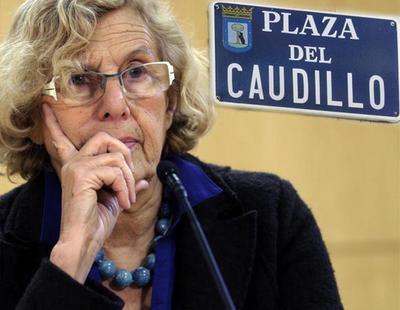 La Fundación Franco frenará el cambio de calles impulsado por Carmena si paga 60.000 euros