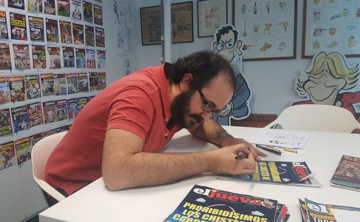 Guillermo Martínez-Vela, director de El Jueves