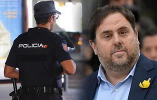 """Tres policías nacionales se burlan de Junqueras: """"Al osito lo van a poner a cuatro patas"""""""