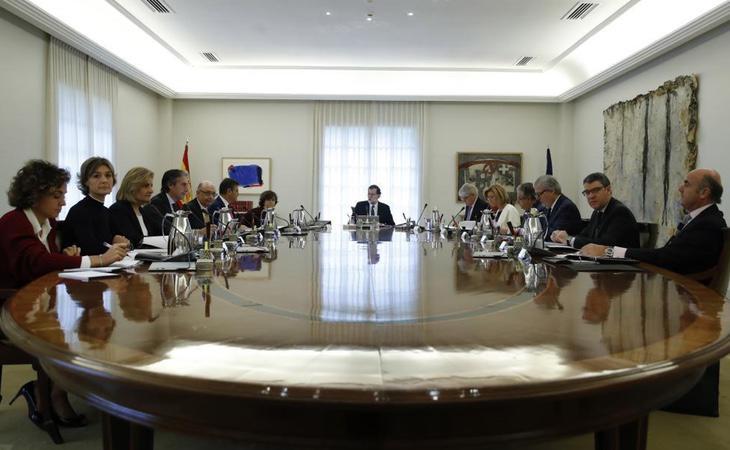 Rajoy teme la prisión del Govern, tal y como comentó en un Consejo de Ministros