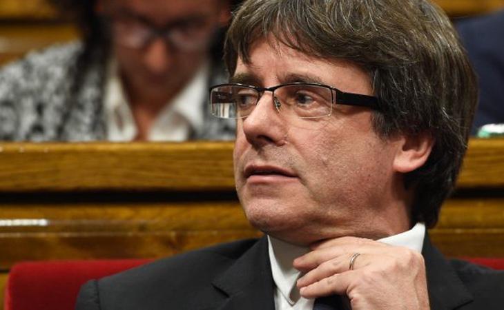 Puigdemont podría ser cabeza de lista el 21-D desde la prisión