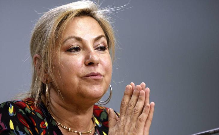 La exvicepresidenta de Castilla y León, Rosa Valdeón