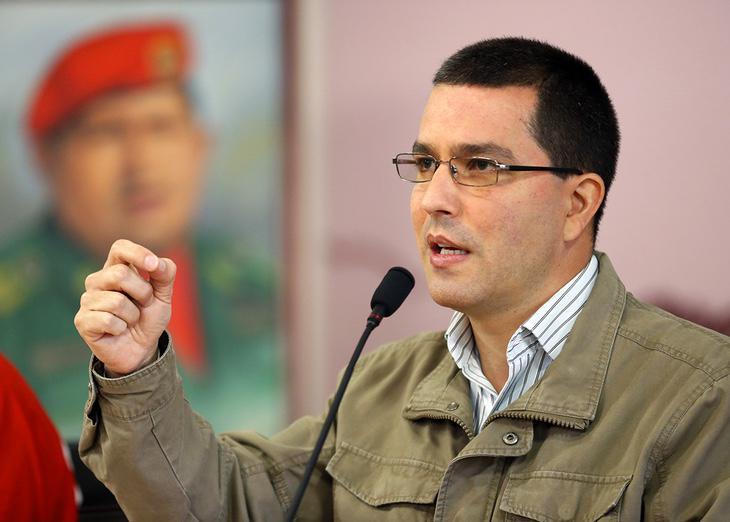 Jorge Arreaza ha publicado los 3 tuits en que Venezuela denuncia que España tenga 'presos políticos'
