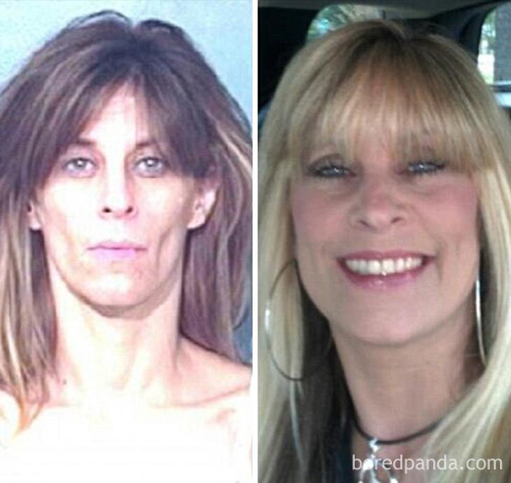 Antes y despues de superar la drogadicción