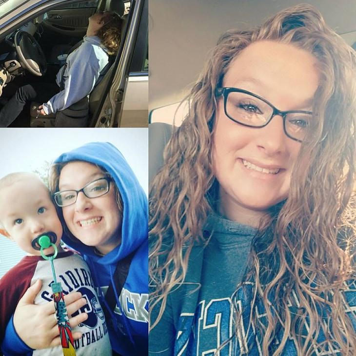 La foto que ha compartido Erika Hurt tras un año de superación de su adicción a la heroína