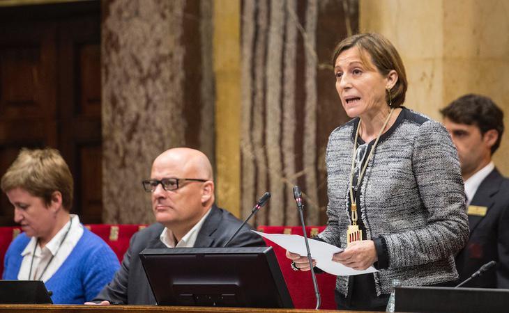 Forcadell cobrará una pensión vitalicia por haber presidido el Parlament durante dos años