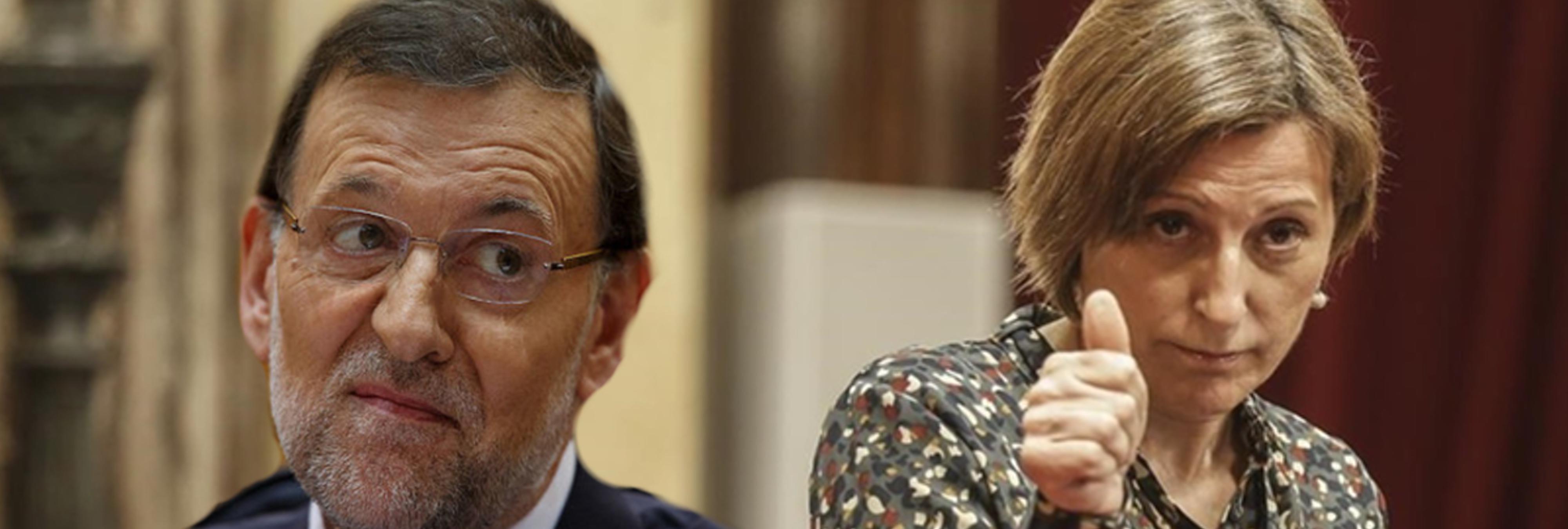 Forcadell cobrará una pensión de 6.235 euros porque Rajoy no la destituyó un día antes
