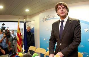 Puigdemont y los exconsellers se entregan a la Justicia belga