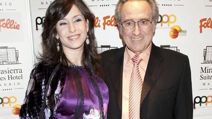 Manolo Escobar junto a su hija Vanessa García Marx