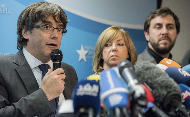 Puigdemont y los exconsellers que se encuentran en Bruselas han quedado en libertad con medidas cautelares