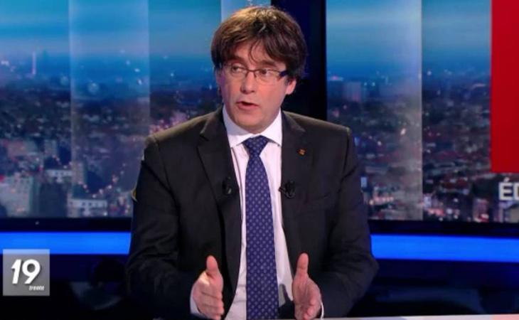 Puigdemont no descarta liderar una candidatura de unidad independentista