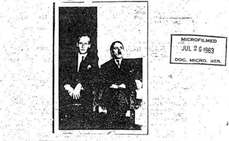 Fotografía de Adolf Hitler en Colombia en 1954
