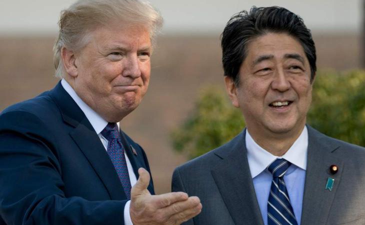 Trump inicia una gira asiática que ha tenido como primera parada Japón