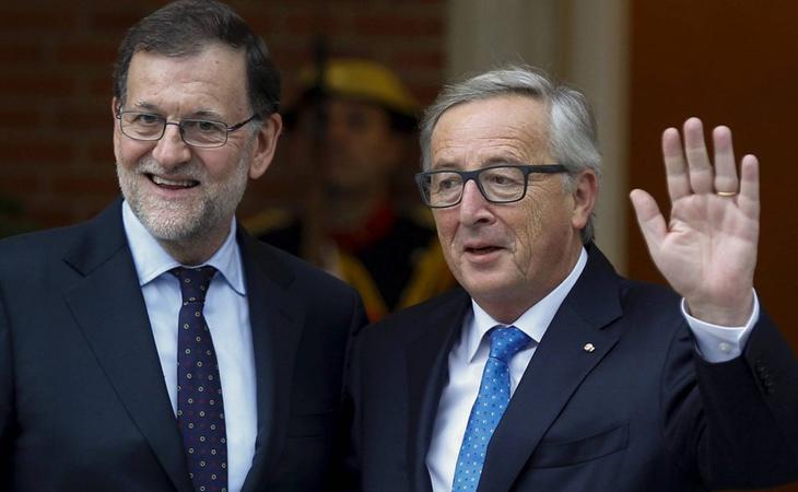 Jean-Claude Juncker se ha alineado una vez más con el Gobierno español