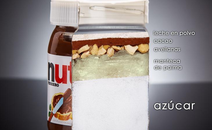 La nutella tiene un sabor delicioso, pero contiene una gran cantidad de productos nocivos para la salud si se consumen en exceso
