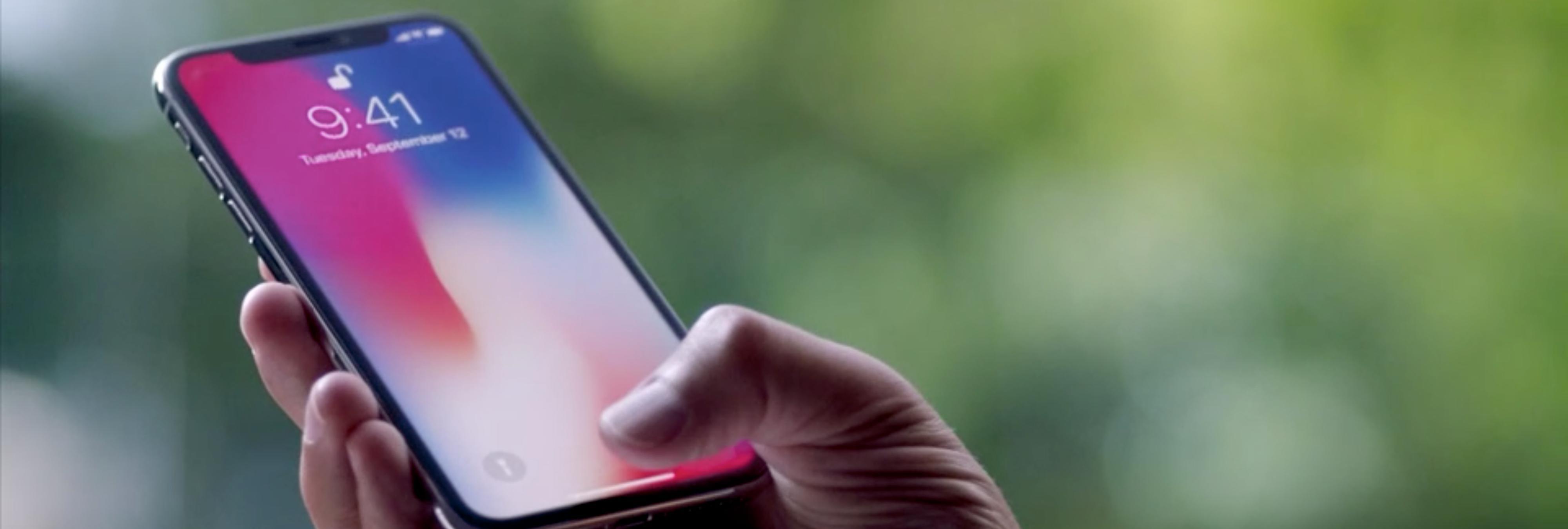 Si tienes un iPhone X, ten cuidado: una imagen fija podría quemar su pantalla