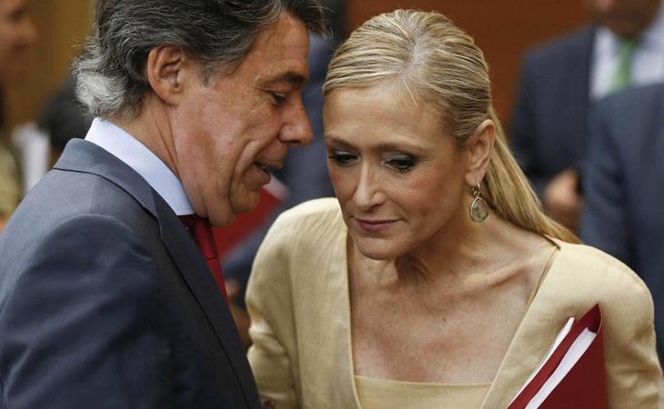 La Comunidad de Madrid presidida por Cristina Cifuentes denunció las irregularidades encontradas en las compras del Canal de Isabel II