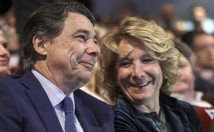 Ignacio González intentó cargar las culpas a Esperanza Aguirre