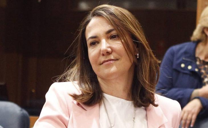 Isabel González, hermana de Ignacio y portavoz adjunta del PP en la Asamblea de Madrid, entregó los 400.000 euros de la fianza