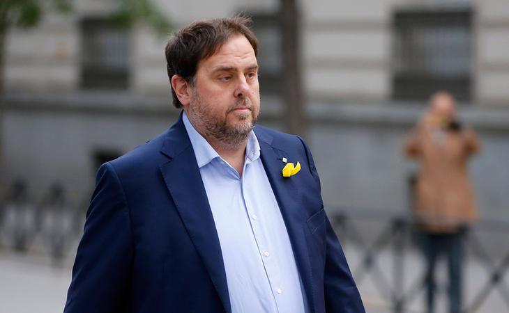Oriol Junqueras entró en prisión el 2 de noviembre acusado de rebelión, sedición y malversación