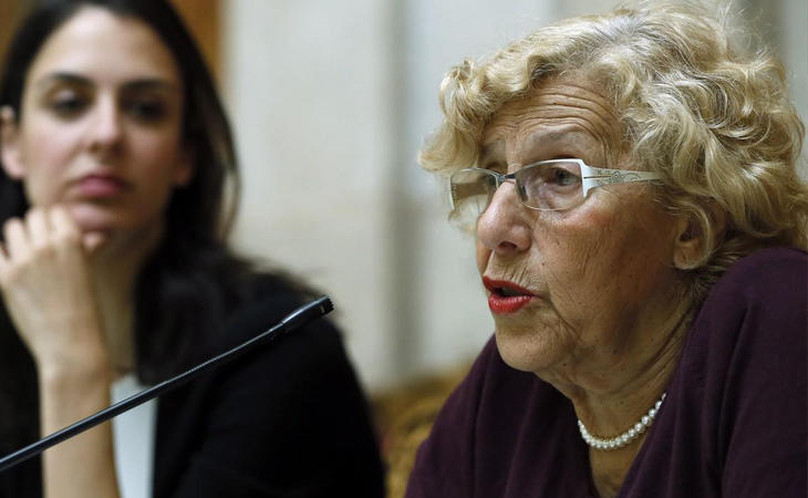 Manuela Carmena apuesta por gestión en política social