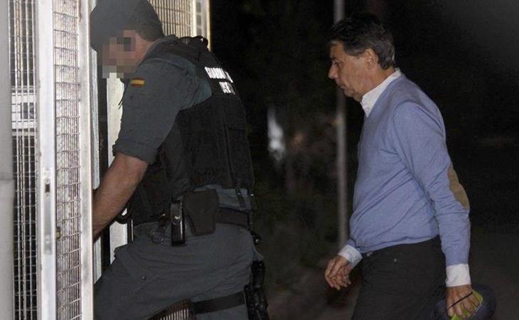 Tras pagar una fianza de 400.000 euros, Ignacio González salió de prisión con medidas cautelares
