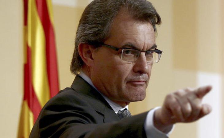 Artur Mas cree que la causa de Forcadell y los miembros de la Mesa tiene mejor pinta que la de los exconsellers