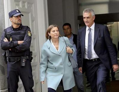 Carme Forcadell sale de prisión tras pagar la fianza de 150.000 euros