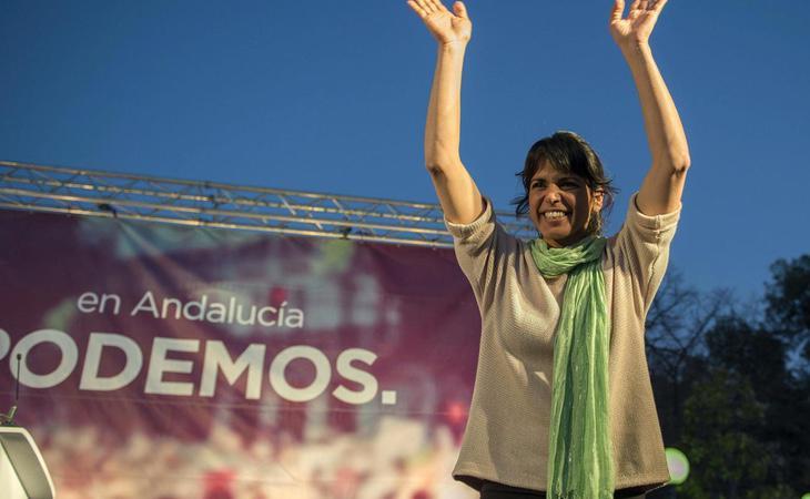 Teresa Rodríguez se sintió