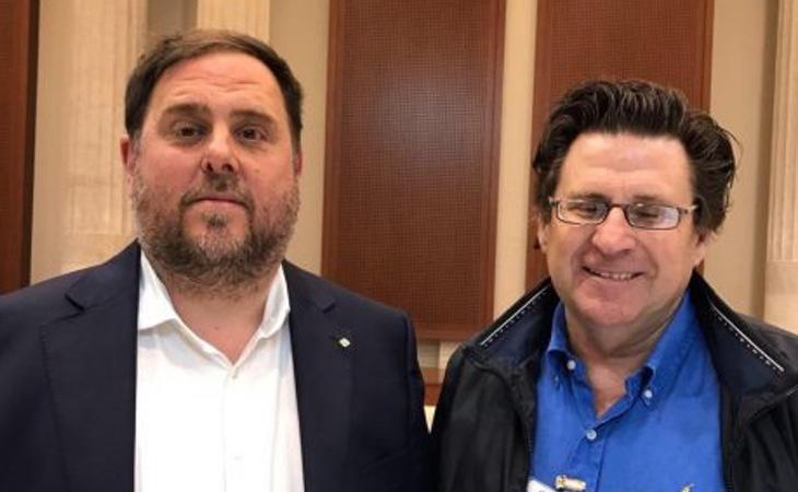 Pedro Ignacio Altamirano ha mantenido encuentros con Junqueras para establecer una línea conjunta hacia el independentismo