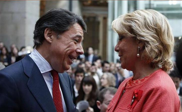 Esperanza Aguirre lo confió todo a Ignacio González
